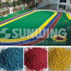 EPDM Rubber Granules Rubber Sheet for Kindergarten Surface