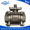 1000wog Stainless Steel 3PC Ball Valve with High Platform