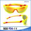 Latest Fluorescent Yellow Frame Polarized PC Lens Sunglasses