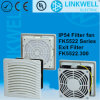China Electric Panel-Mount Gray Plastic Filter Fan (FK5522)