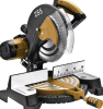 Electric 255mm Gear Type Metal-Cutting Tools Sliding Miter Saw