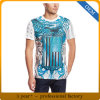 OEM Cotton Feel Polyester Men′s Casual Short Sleeve Printing T-Shirt