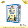 Custom Paper Board Game Birds Educational Card Game
