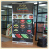 Roller Banner Pop/Roll/Pull up Exhibition Display Stand