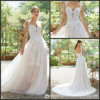 A-Line Bridal Gown Lace Appliqued Sweetheart Wedding Dress 2019 M5701