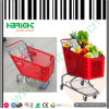 180L Supermarket Plastic Shopping Trolley