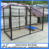 6 FT Black Powder Coated Welded Wire Modular Dog Kennel Panels