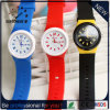 Hot Sale Silicone Quartz Geneva Watch for Ladies (DC-1066)
