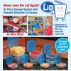Plastic Colorful Food Storage Set Box, Food Container Set