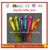 Plastic Liquid Roller Pen with Nice Print Color