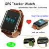 GPS Tracker Watch with Heart Rate Monitor for Elderly/Pilgrim (Y16)