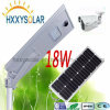 All in One 18W LED Solar Street Light Outdoor
