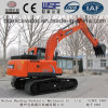 Baoding Machinery Red Medium Excavator 15ton Crawler Excavators for Sale