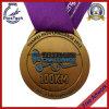 2D Soft Enamel Medal, Antique Silver Plating, No MOQ