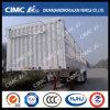 Cimc Huajun 3axle Gooseneck Stake/Cargo Semi Trailer with White Painting