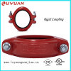 Ductile Iron ASTM A536 Grooved Coupling and Fitting