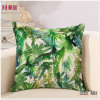Digital Printing Leaf Decorative Bed Throw