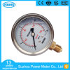 60mm Half Stainless Steel Oil Filled Pressure Gauge