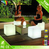 LED Plastic Cube Chair