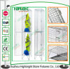 Building Site 3 Tiers Wire Mesh Lockers for Workers