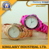 Stylish Silicone Watch Gadget with Colorful Plating (KW-013)