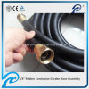 "3/4"" Rubber Contractor Hose with Mxf Ght/Nh Brass Fitting"