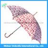 Wholesale Chinese Style Printing Flower Straight Umbrella