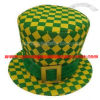 Velvet Material Fascinator Hats for World Cup Match