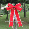 Giant Christmas Red Velvet Ribbon Bow