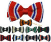 Hot Selling New British Fashion Polyester Wool Knitted Men Bow Tie