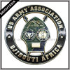 Cool Hollow out Metal Badge for Us Army (BYH-10543)