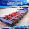 8 Axles Low Bed Semi Trailer 200 Tons