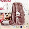 2014 High Quality Polyester Fabric Textile Baby Blanket Microfiber Blanket
