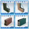 Aluminum Extrusion 6063 Fresh Color Aluminum Door Aluminium Extrusion Profile