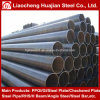 Manufacturer Weld Steel Pipe with Black Coating Surface