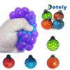 Rubber Vent Grape Stress Ball Hand Wrist Toy