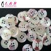 4-Holes White Sew Sea Shell Button