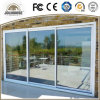 2017 Low Cost Factory Cheap Price Fiberglass Plastic UPVC Glass Door with Grill Insides