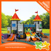 Castle Series Multifunctional Outdoor Play Equipment Play Station Slide for Kids