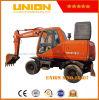 Daewoo Dh130-Wv Wheel Excavator (13 t)