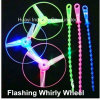 LED Light up Flashing Whirly Wheel Toy