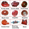 Mining Solid Slurry Pump Replacement Metal Spare Parts