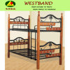 Wooden and Metal Bunk Bed