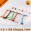 Hot Three in One USB Retractable Cable with Fast Speed
