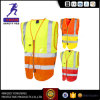 Red Reflective Safety Clothes Vest for Working En20471