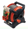 Portable Hose Reel with Hose Nozzle Set