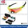 Novelty Custom Fashion Sport Sunglasses Come with Hard EVA Case Vintage Cycling Driving Riding Sun Glasses