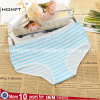 Comfortable Ventilate Cotton Cross Stripe Printing Simple Ladies Lingerie Panty