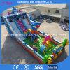 Ocean World Theme Giant Inflatable Slide Amusement Park Combo