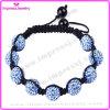 Adjustable Band Bracelet Buddhas Eyes Soft Ceramic Beads Bracelet